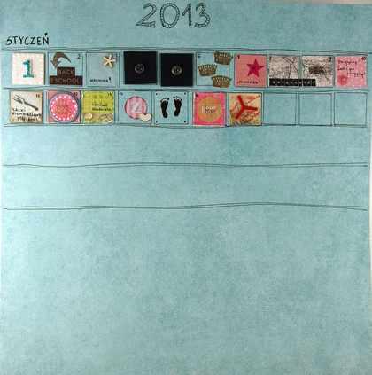 Kalendarz - calineczki