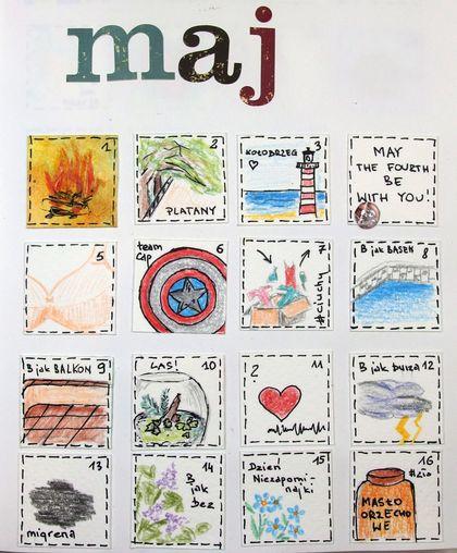 Calendarz maj
