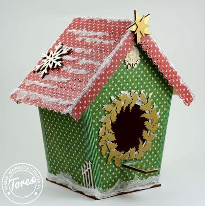 Domek świąteczny